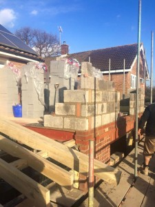 Blockwork on extension