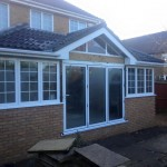Extension to rear of house