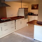 Groundfloor extension - Kitchen almost completed