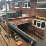 Steels in place for extension