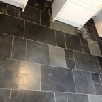Stone flooring installation